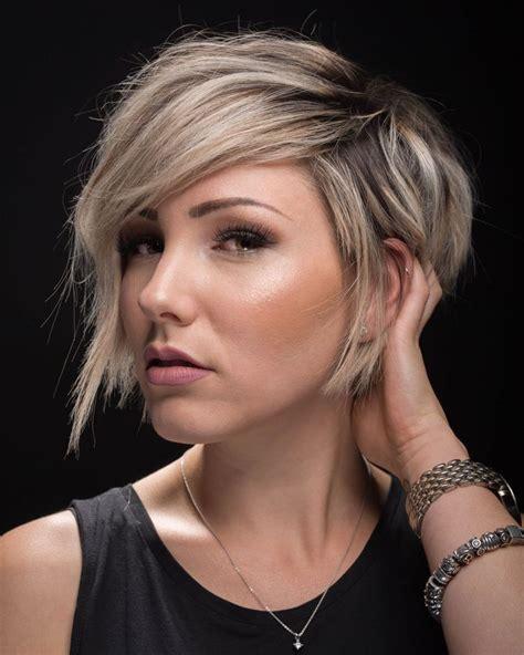 cute blonde short hairstyles   faces nona gaya