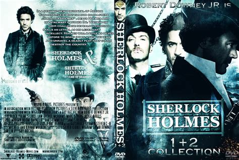 Sherlock Holmes Dvd-cover On Behance