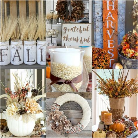 Diy Fall Decorating Ideas  25 Diy Fall Decor Ideas You