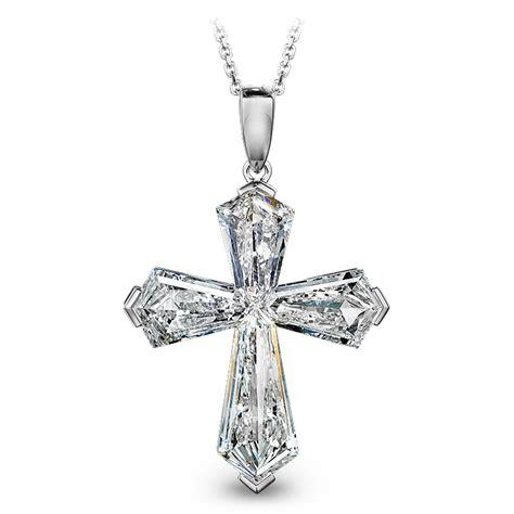 diamond cross pendant jacob  timepieces fine