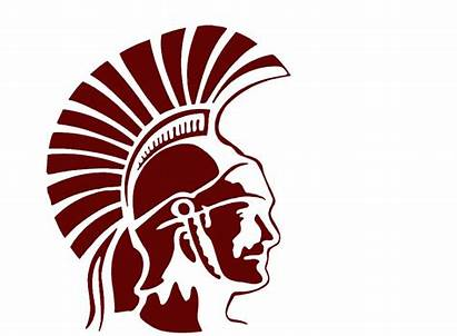 Trojan Head Clipart Trojans County Barren Bchs