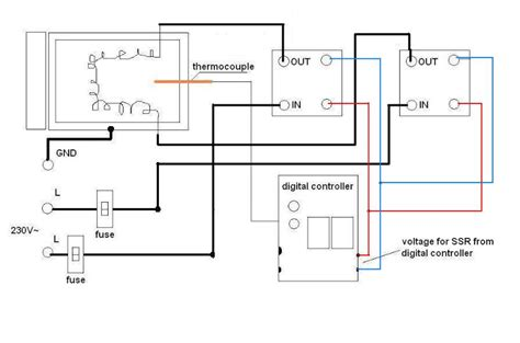 Ga Water Heater Thermostat Wiring Diagram by Building A New Smoker Need A Controller For 220v
