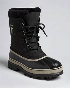 Sorel Caribou Boots in Black for Men | Lyst