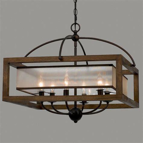 modern farmhouse 2017 chandelier decor rustic light