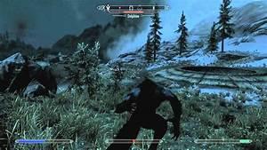 Skyrim: WEREWOLF VS. DRAGON!!!!!! - BoondockSaintCM - YouTube