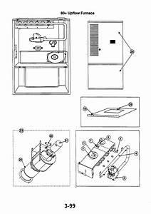 80  Upflow Furnace Diagram  U0026 Parts List For Model Gm096k12b Thermal