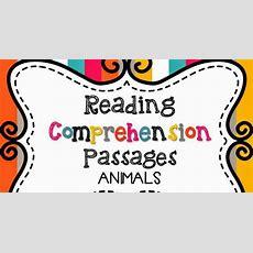 Live, Laugh, I Love Kindergarten Comprehension Passages