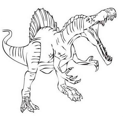 jurassic world indominus rex coloring pages sketch coloring page
