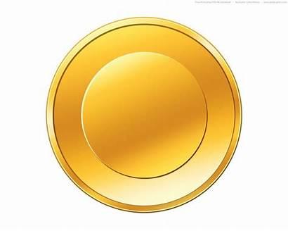 Icon Coin Gold Coins Psd Yellow Golden