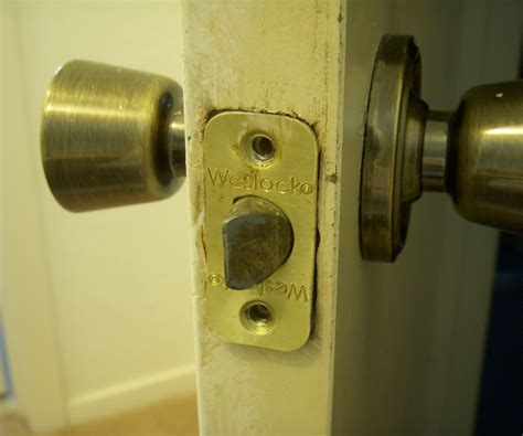 schlage door hardware removal how to remove and replace a weslock doorknob 3