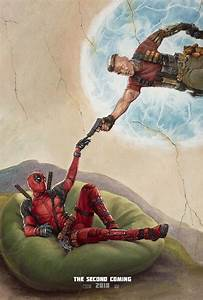 "Deadpool 2 ""Second Coming"" poster"