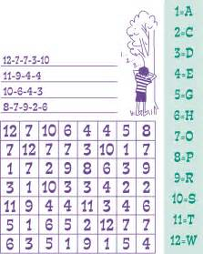 Number Word Search Puzzles for Kids