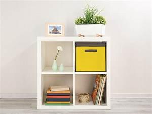 Stoffbox Mit Deckel : pearl regalbox 2er set aufbewahrungsboxen mit deckel faltbar 31x31x31 cm gelb ordnungsbox ~ Frokenaadalensverden.com Haus und Dekorationen