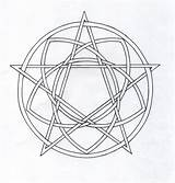 Pentagram Coloring Pentacle Template Tori Writing Pages Celtic Deviantart sketch template