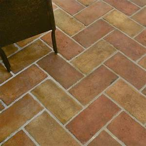 Reclaimed Natural Rectangle Terracotta Tiles 6x12 - Marble ...