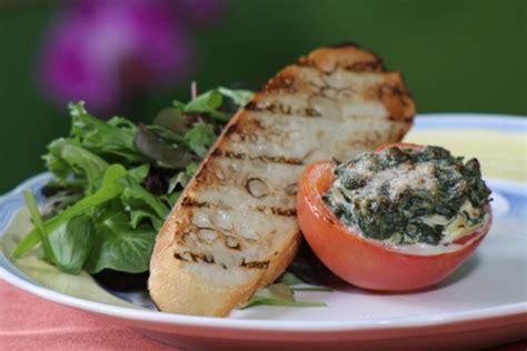 alouette cuisine alouette light garlic and herbs stuffed tomatoes recipe