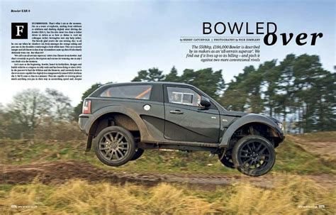 land rover bowler exr s the new bowler rover exr s landrover tuning special