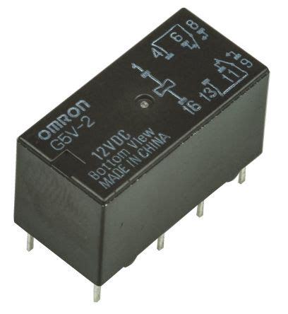 Omron Vdc Micro Spdt Relay Wiltronics