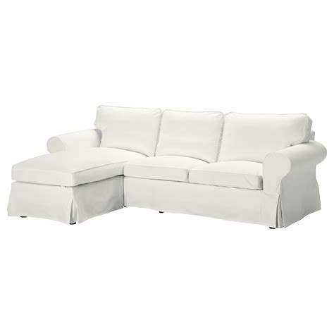two seat sofa and chaise longue ektorp two seat sofa and chaise longue blekinge white ikea