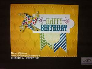 Making Your Own Cards Using Stampin 39 Up Happy Birthday Greeting From You 39 Re