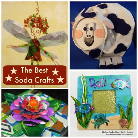 12 Soda Can Crafts For Everyone Favecraftscom