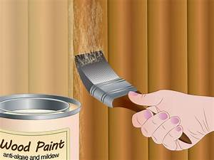 How To Remove Mildew And Algae From A Wooden Fence  With