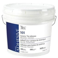 tec 174 ceramic tile adhesive ta 101 3 5 gal at menards 174