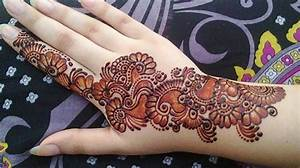 Simple Arabic Mehndi Designs 2017 That Are Easy You can Do ...