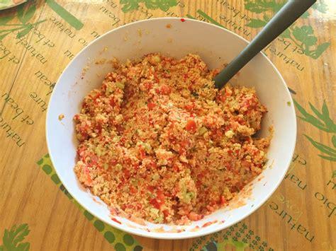 recette de taboul 233 maison recette companion cuisine