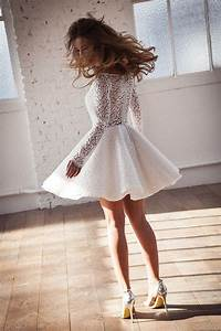 Robe Mariee Courte : robe de mari e courte meryl suissa ~ Melissatoandfro.com Idées de Décoration