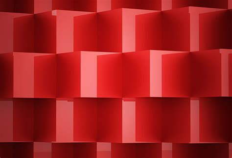 shop red abstract cubes wallpaper   theme