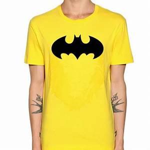 Tee Shirt Jaune Homme : t shirt jaune batman homme ketshooop t shirts anniversaires rigolos humour d cal s ~ Melissatoandfro.com Idées de Décoration