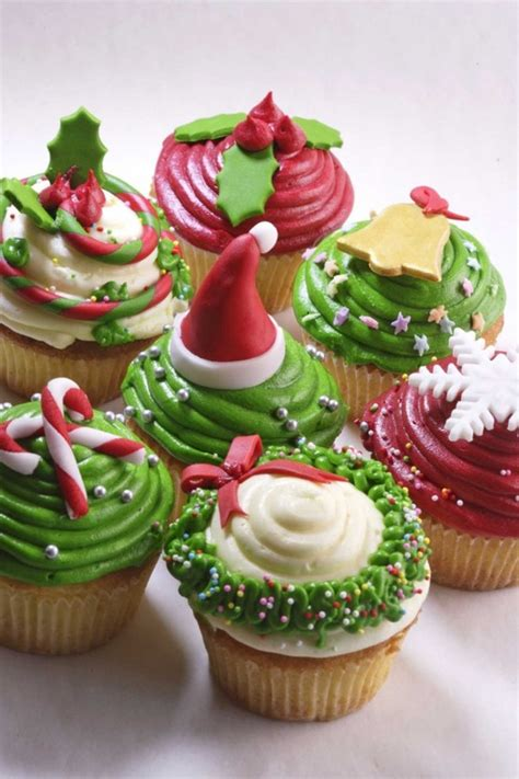 christmas cupcakes christmas cupcake ideas carolinebakker com