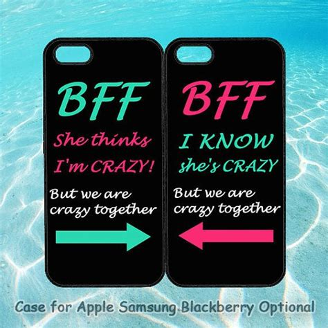 best friend iphone cases best friends bff in pairs for iphone 5 iphone 4 by