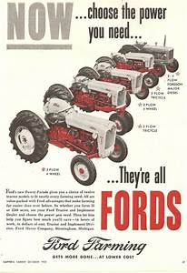 1955 Ford Tractor Line 860  960  660  740