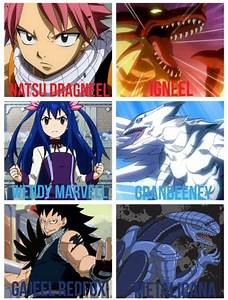Fairy tail dragon slayers | Fairytail | Pinterest ...