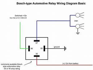 5 Pin Relay Wiring Diagram