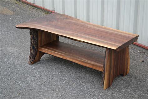 edge walnut bench  shelf corey morgan