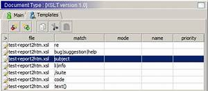 xsl multiple templates - xml editor