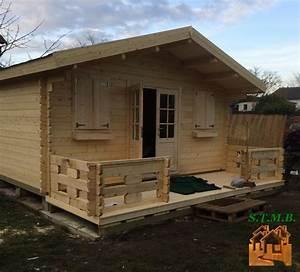 Chalet Bois Kit : chalet de jardin en kit murier 20 m en madriers de 44 mm ~ Carolinahurricanesstore.com Idées de Décoration