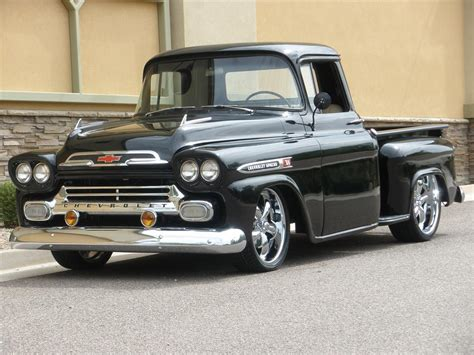 Chevrolet Apache 1958 Review, Amazing Pictures And Images