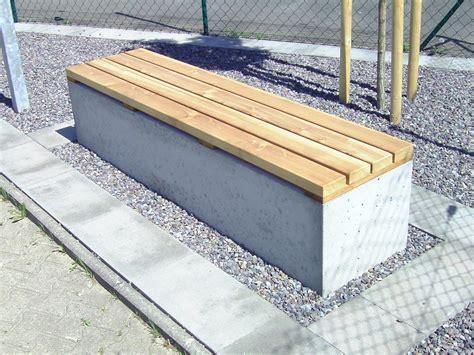 betonbank mit holzauflage angulus sedes gartenbank mit holzauflage outdoor co33 betonm 246 bel