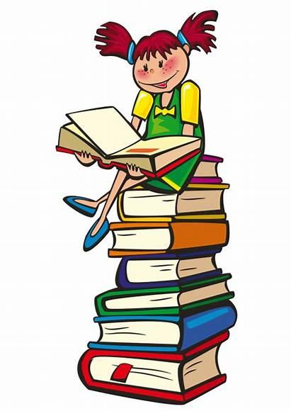 Clip Clipart Academic Classroom Stuff Books Education
