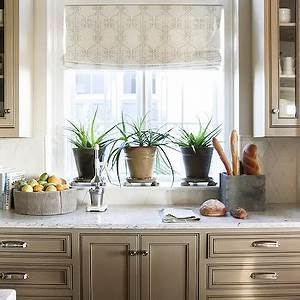Kitchens taupe built in cabinets design ideas for Best brand of paint for kitchen cabinets with faith hope love metal wall art