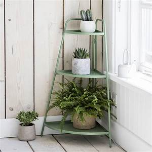 Corner, Plant, Stand, By, Garden, Trading