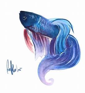 betta fish drawing | ART | Pinterest