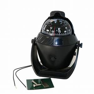 Pivoting Nautical Compass Car Marine Guide Ball With