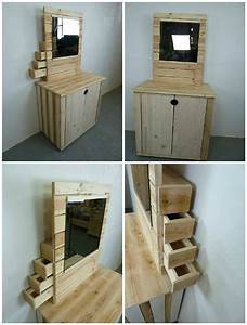 Pallet Dresser With Side Drawers DIY Projects Mbel