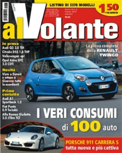 Al Volante Prove by Riviste Auto