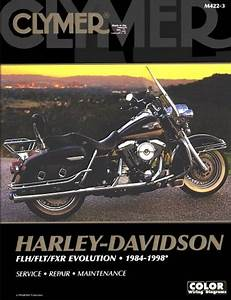 Harley Davidson Evolution Repair Manual Flh  Flt  Fxr